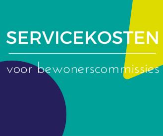 Servicekosten voor bewonerscommissies