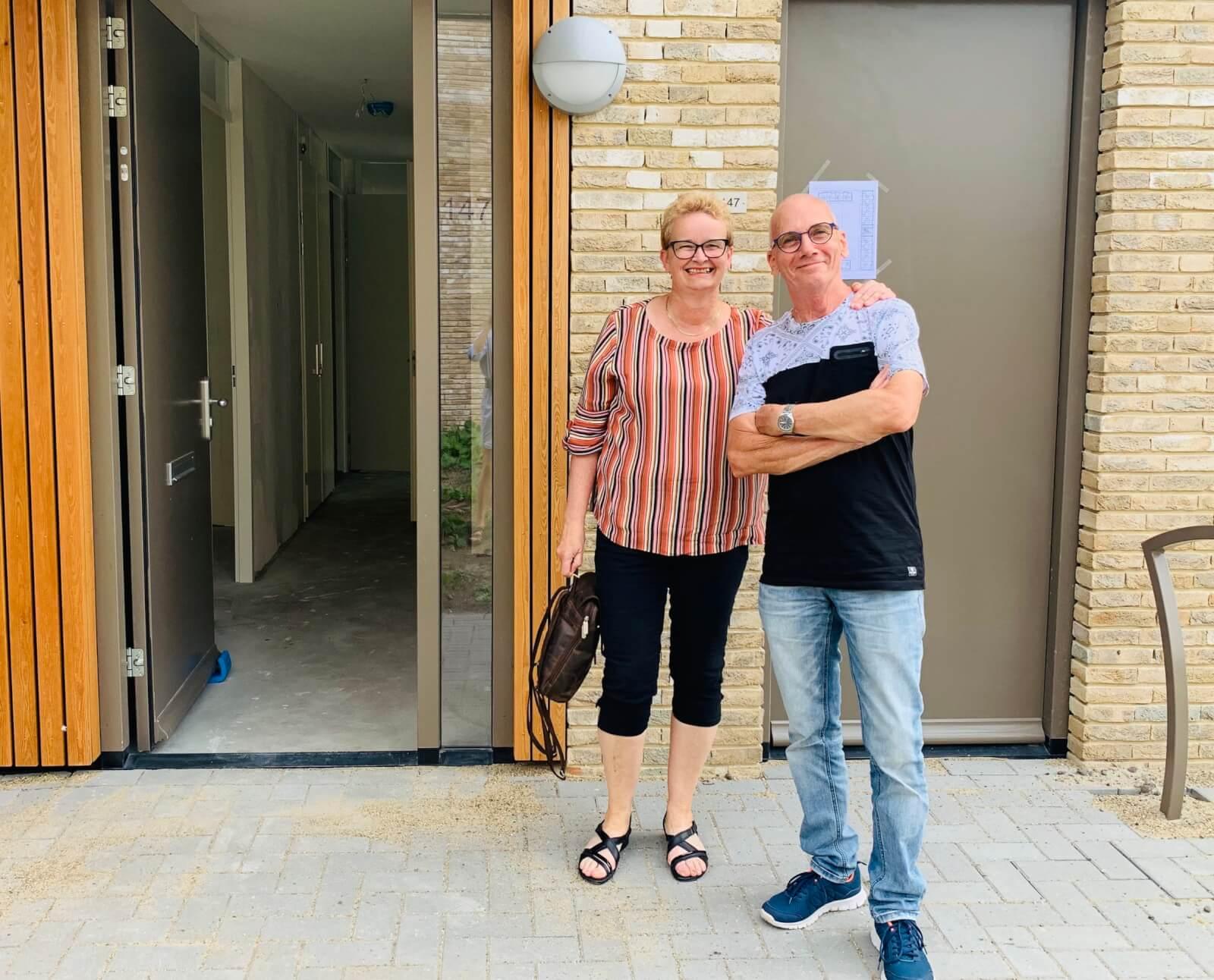 Foto Jolanda en Hennie Veldhuis - DIscushof